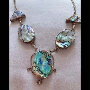 Abalone necklace • never worn • perfect condition